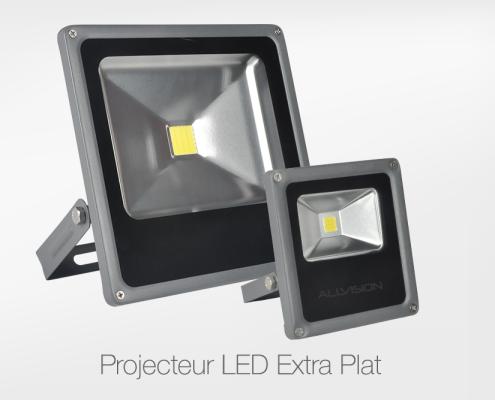 Projecteurr-Led-Extra-Plat-Allvision